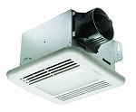Delta BreezeGreen Builder 80 cfm bath fan, Light, Humidity and Motion Sensor