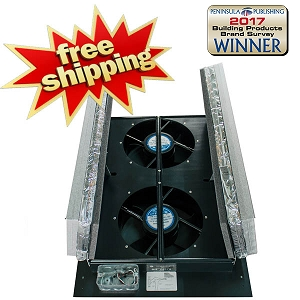 HV1000 R50 Whole House Fan