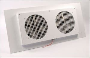 TC1000-T Sunroom/Patio Ventilator White Fan Motors