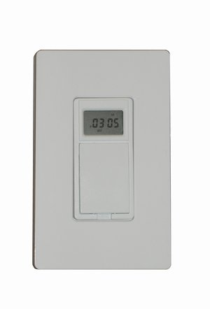 Programmable in-wall timer/switch