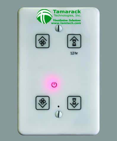 HV2800D Venti Ducted Whole House Fan Wall Control