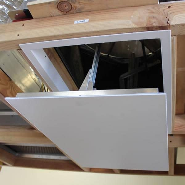 HV2800 Kaze Whole House Fan With Drop Down Door