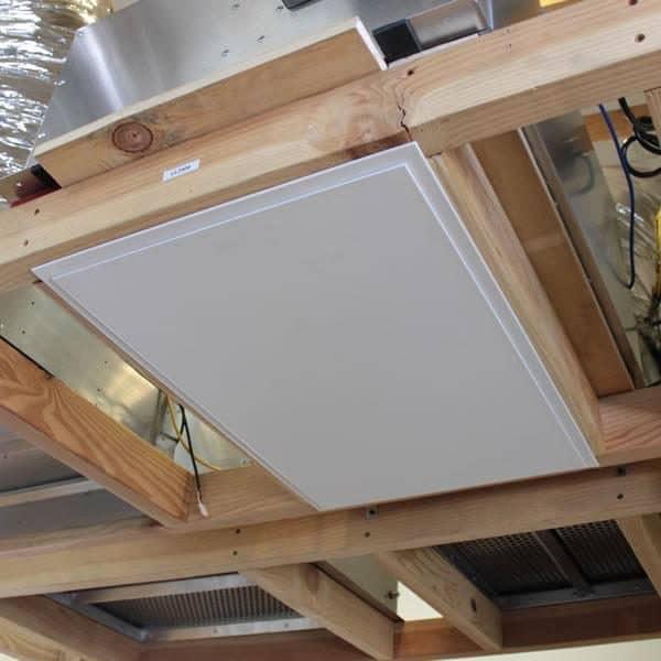 HV2800 Kaze Whole House Fan Drop Down Door Sealed