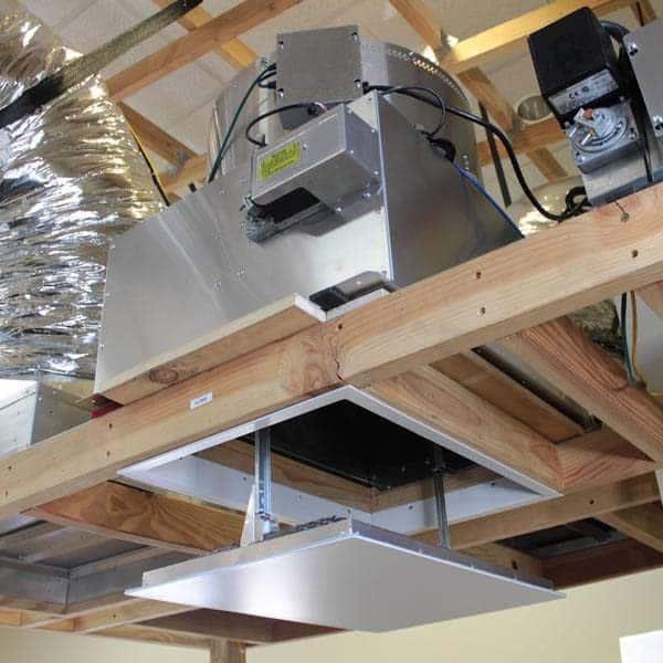 HV2800 Kaze Whole House Fan Sleek and Modern Design