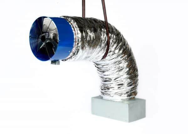 HV4800 Ducted Whole House Fan With Gravity Damper