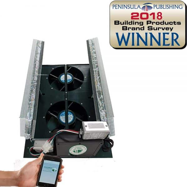 WiFi HV1000 R50 Whole House Fan With Cell Phone