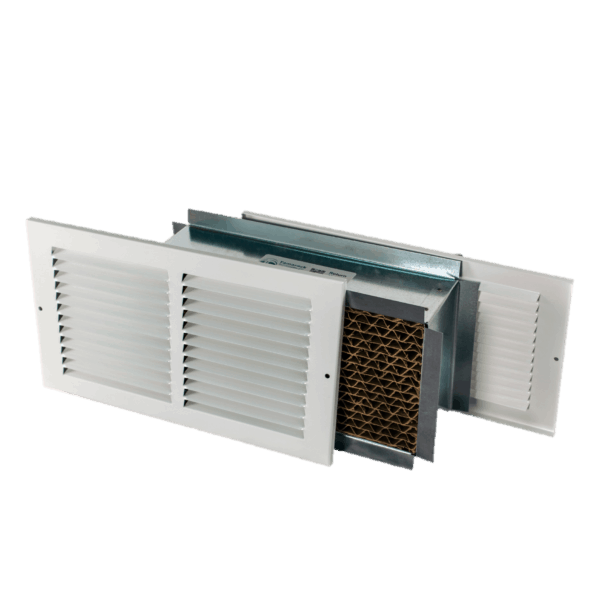 12x4 Retrofit Transfer Grille Wall Vent Return Air Pathway