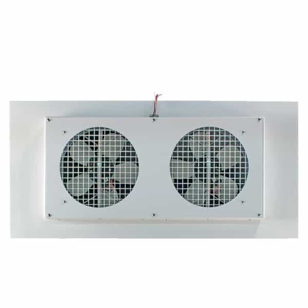 TC1000H White Grille and Fan Motors