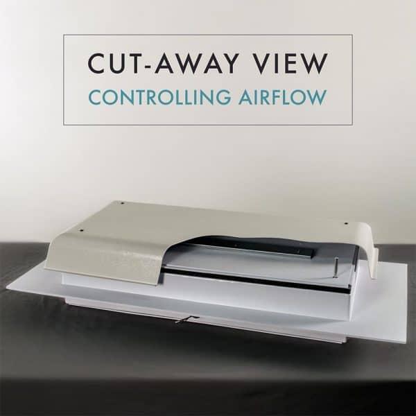 TC1000H White Cutaway Image 2