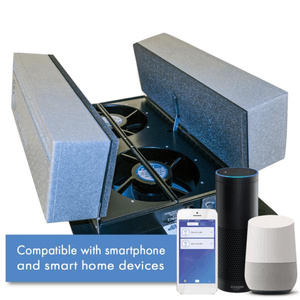 Whole House Fan Main Image With Amazon Alexa and Google Home