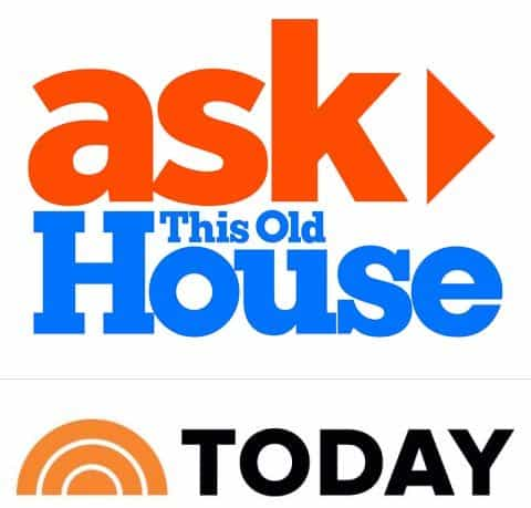 Featured on Ask This Old House and the Today Show
