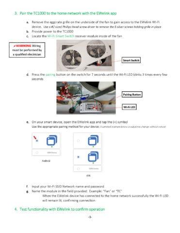 TC1000 Wi-Fi Set Up Guide