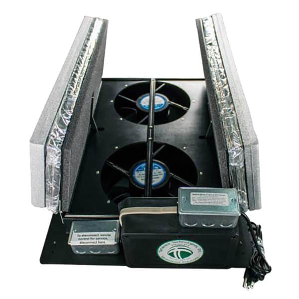 Tamarack HV1600R50 insulated whole house fan that mounts in attic