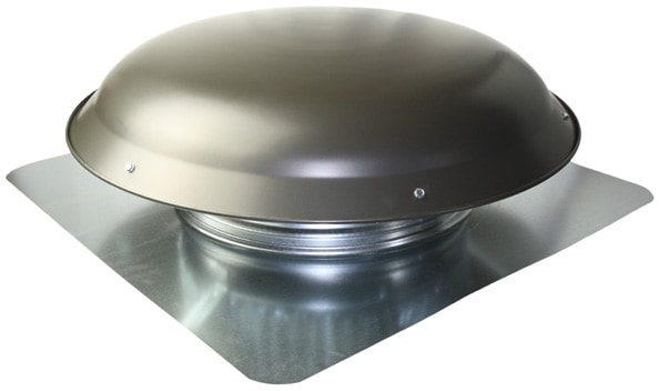 Cool Attic CX4000AA Power Roof Aluminum Vent Dome with 5.1 Amp PSC Motor Mill