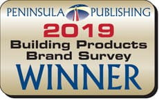 Peninsula Publishing 2019 Winner - Building Product Brand Survey