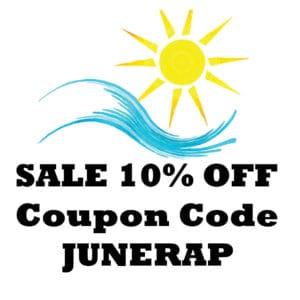 SALE 10% OFF Promo Code JUNERAP Coupon Code