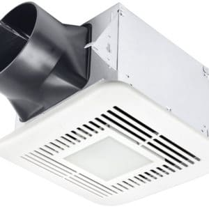 Delta Bath Fan Elite Series 80-110 CFM Single Speed LED Main Image