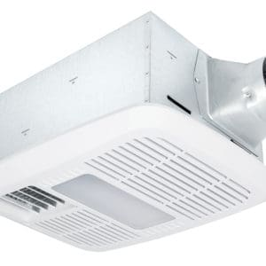 DB-RAD110LED Bathroom Fan With Light Radiance Series Main Image